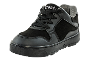 Youth Solid Black Shoes